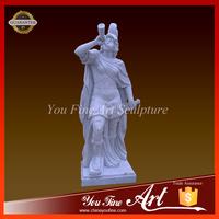Outdoor Decoration Famous Roman Solidiers Figure Sculpture