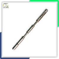 CNC custom machining long thread shaft in SS304