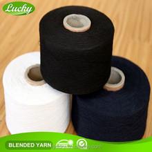 Cnlucky factory sell regenerated hand knitting yarn, yarn shop, knitting boucle yarn