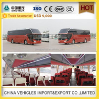 Low price howo sinotruk passenger city bus for sale