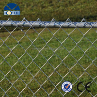 Professional made top quality widely use new style galvanized chain link fence