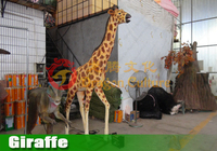 Simulation Giraffe Statue for Theme Park