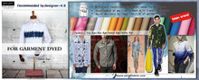 100% Cotton bleached oxford Fabric for Garment Dyed
