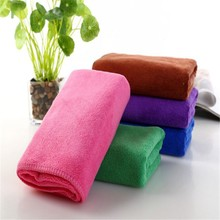 Weft knitting microfiber towel stock lots for cars
