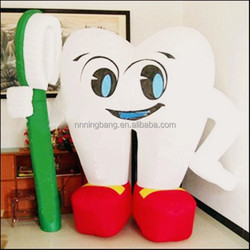 TH-3001 NB Hot sale Giant inflatable tooth for advertising