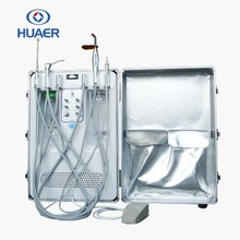 CE approved with air compressor portable dental unit
