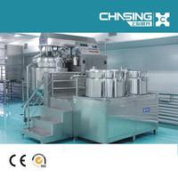 vacuum emulsifier homogenizer for whitening cream mixing equipment