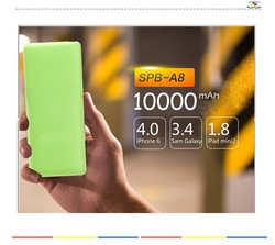 2015 Wholesale in china market, High Quality Mobile Portable 10000mAh Power Banks