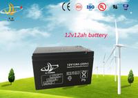 JL factory 12v 12ah solar battery lead acid battery/storage battery for UPS/solar/wind system hot sale
