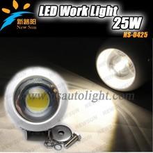 Quality guaranteed 5 inch round c ree cob led work light, auto car work light led 12V led eagle eye