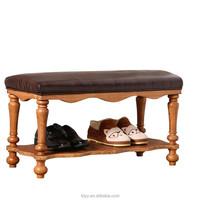 TDH-522-4 QVB JIANDE TONGDA American style stool long footstool beach chair antique footstoolwildom home thomas ottomans