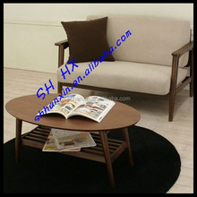 Durable dubai wooden coffee teak root end table