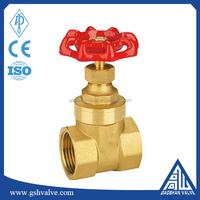 female thread brass non rising stem gate valve