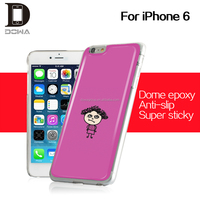 hottest cheap waterproof phone case gel crystal mobile sticker for iphone 6s