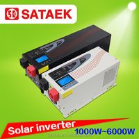 off grid single phase solar inverter 1kw 2kw 3kw 4kw 5kw 6kw dc 12v 24v 48v for solar system