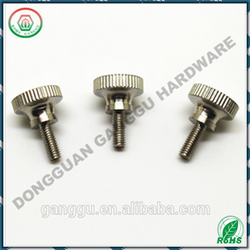 China Factory Hot Sale M4 Knurled Thumb Screw