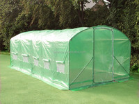 6 x 3.5 x 2m Polytunnel Greenhouse Pollytunnel Poly Tunnel