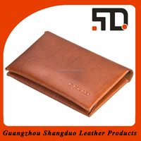 Brand Supplier Realiable Quality Leather Unique Business Card Cases