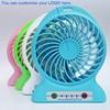 Electrical home appliances 4-inch vanes 3 speeds portable mini fan rechargeable desktop fan battery, USB powered air cooler fan