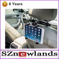 Mobile Phone Accessories Factory In China Universal 360 Rotating Headrest Tablet PC Mount Car Mobile Holder