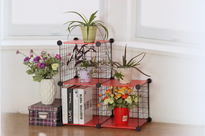 strong grid wire modular shelving wire storage shelf fh. Black Bedroom Furniture Sets. Home Design Ideas