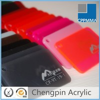 china wholesale color cast acrylic sheet / pmma plate