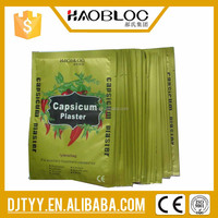 2015 new product distributor wanted hot tiger capsicum plaster in China