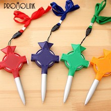multi-function ball pen hanging pen promotional pen with tape