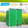 garden furniture light board metal flat pack garden sheds of China metal storage sheds