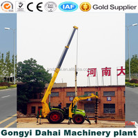 ISO approved Hydraulic rotary drill rig for Pole drilling