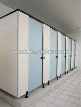 Moda freestanding hpl compact toilet partition