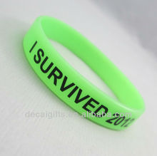 I SURVIVED 2012 Memorial silicone wristbands