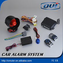 New Technology Safe and Reliable,car alarm is well liked by many people with central door locking ,anti-hijacking car security