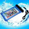 PVC Phone Waterproof cover For Samsung Galaxy s6 with neck strap
