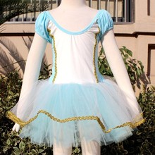 Fashion baby flower girls dress, ballet clothing for girls