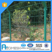 Made In Guangdong 2x2 galvanized welded wire mesh for fence panel Fence Various Styles