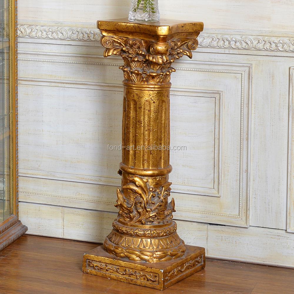 pu838 antique pu romaine art pilier colonne pour d coration pilier id de produit 290651913. Black Bedroom Furniture Sets. Home Design Ideas