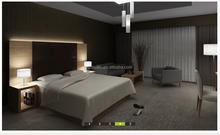 2015 Foshan Laminate Hotel Bedroom Furniture