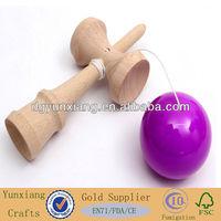 Kendama wooden skill toys