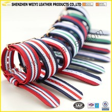 Colorful Custom Design Fabric Watch Strap