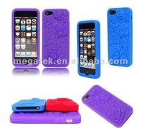 Cell phone case Flower Rose Carve 3d case for iphone 5, for iphone 5 case pc ,for iphone 5s case 3d