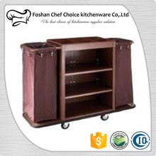 Factory Price Hosekeeping Trolley Commercial Design Hotel Cleaning Trolley