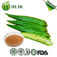 health food Enhance sex products Okra Extract powder Okra Extract