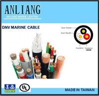DNV/UL 3core 19.2mm PVC coated insulated marine underwater electrical cable wire