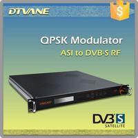 (DMB-9500) Digital TV Satellite TV One channel ASI to QPSK modulator for ASI to DVB-S modulator