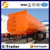 Best Sell 40cbm diesel tanker Semi Truck Trailer