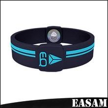 Embossed printed Custom Shape Silicone Rubber Basketball Baseball Football Running Wristband Bracelet