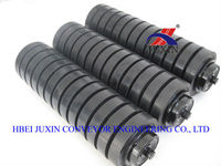 steel roller with rubber rings