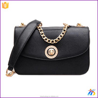 All matched ladies crossbody bags stylish shoulder bags with long chain