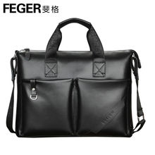 Wholesale Men Bags Genuine Leather Handbags Men Fashion Shoulder Bags